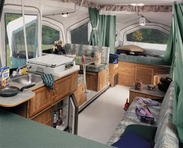 Large Viking Air Conditioned Popup With Slideout K Camper
